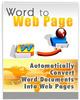 Word 2 Webpage