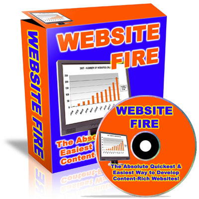 Product picture Website Fire PLR
