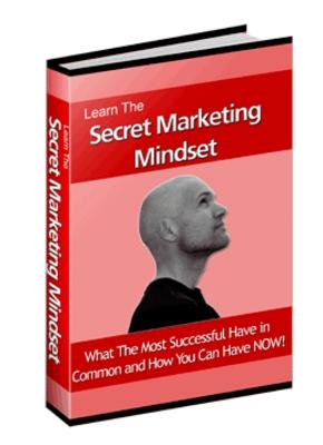 Product picture The Secret Marketing Mindset MRR